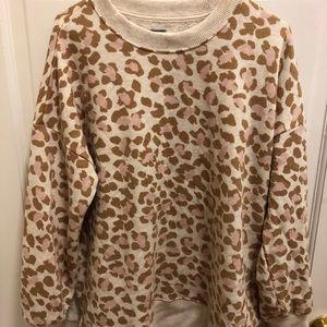 Aerie oversized desert sweatshirt